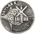 Explorers:Space Exploration, Skylab I (SL-2) Unflown Silver Robbins Medallion Originally from the Personal Collection of Astronaut Alan Bean, Serial Number...