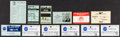 Explorers:Space Exploration, NASA Manned Spacecraft Center/ Johnson Space Center Badge andFlight Schedule Collection.... (Total: 30 )