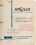 Explorers:Space Exploration, Early Apollo (1962-1964) Guidance & Navigation Training Coursesfrom M.I.T. and AC Spark Plug/ NASA Originally from the Person...