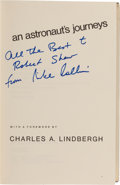 Autographs:Celebrities, Michael Collins: Carrying the Fire Book Signed. ...