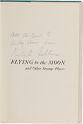 Autographs:Celebrities, Michael Collins: Flying to the Moon Book Signed. ...