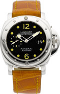 Timepieces:Wristwatch, Panerai Luminor Submersible OP 6506 Steel Automatic A0939/1500. ...