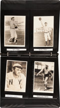 Baseball Collectibles:Others, George Burke Reproductions of Dead Ball Era Photographs Lot of 34....