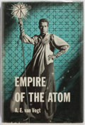 Books:Science Fiction & Fantasy, A. E. Van Vogt. INSCRIBED. Empire of the Atom. Chicago: Shasta, [1956]. First edition. Inscribed by the author...