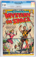 Golden Age (1938-1955):Science Fiction, Mystery in Space #9 (DC, 1952) CGC FN/VF 7.0 Cream to off-whitepages....