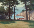 Paintings, ROBERT WILLIAM WOOD (American, 1889-1979). Point Lobos, California, 1945. Oil on canvas. 25 x 30 inches (63.5 x 76.2 cm)...