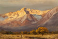 Paintings, ROBERT WILLIAM WOOD (American, 1889-1979). Sierra Sunrise, 1962. Oil on canvas. 24 x 36 inches (61.0 x 91.4 cm). Signed ...