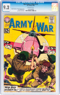 Silver Age (1956-1969):War, Our Army at War #121 (DC, 1962) CGC NM- 9.2 Off-white pages....