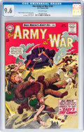 Silver Age (1956-1969):War, Our Army at War #143 (DC, 1964) CGC NM+ 9.6 Off-white pages....