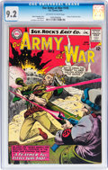 Silver Age (1956-1969):War, Our Army at War #145 (DC, 1964) CGC NM- 9.2 Off-white to white pages....