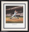 Autographs:Others, 1990's Joe DiMaggio Signed Print....