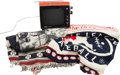 Baseball Collectibles:Others, 1973 Presentational Television & Two Blankets from The StanMusial Collection....
