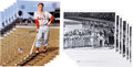 Autographs:Photos, Circa 2010 Stan Musial Signed Large Photographs Lot of 12....