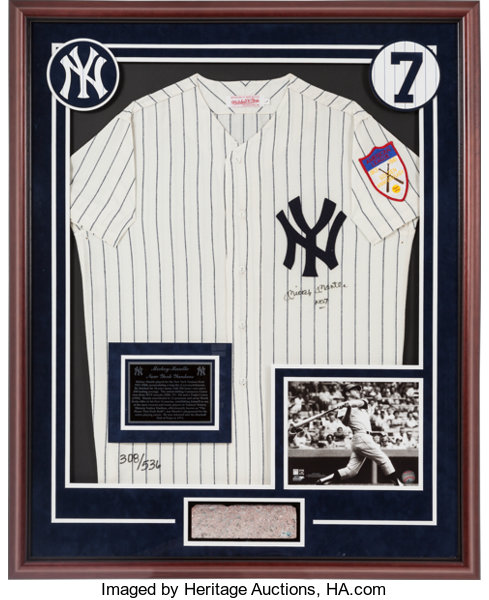 competitive price 5a53c f238d Circa 1990 Mickey Mantle