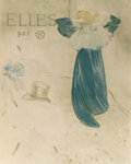 Fine Art - Work on Paper:Print, HENRI DE TOULOUSE-LAUTREC (French, 1864-1901). Elles, Thirdstate (Poster edition), 1896. Crayon, brush, and spatter lit...