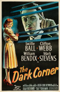 "Movie Posters:Film Noir, The Dark Corner (20th Century Fox, 1946). One Sheet (27"" X 41"")....."