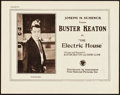 "Movie Posters:Comedy, The Electric House (First National, 1922). Title Lobby Card (11"" X14"").. ..."