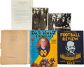Football Collectibles:Others, 1925-30's Notre Dame and Knute Rockne Memorabilia Lot....