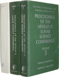 Explorers:Space Exploration, Apollo 11: Proceedings of the Apollo 11 Lunar Science Conference Set of Books, Volumes 1-3 [and] Abstracts o... (Total: 6 Items)