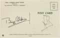 Autographs:Celebrities, Apollo 11 Moonwalkers: Signed Mission Insignia Postcard....