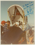 Autographs:Celebrities, Neil Armstrong Signed NASA X-15 Color Photo. ...