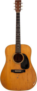 Musical Instruments:Acoustic Guitars, 1971 Martin D-28 Natural Acoustic Guitar. Serial # 282144....
