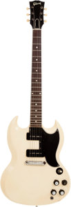 Musical Instruments:Electric Guitars, 1963 Gibson SG Special White Solid Body Electric Guitar, Serial #122503....