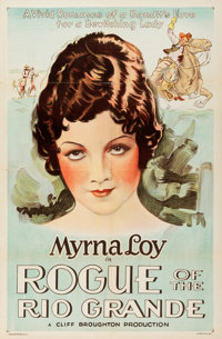 """Rogue of the Rio Grande (Sono Art-World Wide Pictures, 1930). One Sheet (27"""" X 41"""")"""