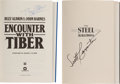 Explorers:Space Exploration, Astronaut Authors: Two Novels Signed.... (Total: 2 Items)