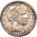 Barber Half Dollars, 1897-O 50C MS65 PCGS....