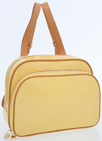 Louis Vuitton Yellow Monogram Vernis Leather Murray Backpack