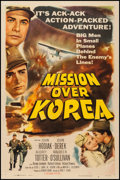 "Movie Posters:War, Mission Over Korea (Columbia, 1953). One Sheet (27"" X 41""). War....."