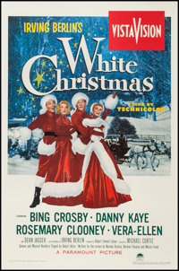 """White Christmas (Paramount, 1954). One Sheet (27"""" X 41""""), and Commercial Reproduction Poster (25.5"""" X 37&..."""