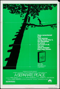 "A Separate Peace (Paramount, 1972). One Sheet (27"" X 41""). Drama"