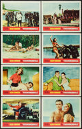 "Movie Posters:James Bond, Thunderball (United Artists, 1965). Lobby Card Set of 8 (11"" X14""). James Bond.. ... (Total: 8 Items)"