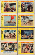 "Movie Posters:Science Fiction, Journey to the Center of the Earth (20th Century Fox, 1959). LobbyCard Set of 8 (11"" X 14""). Science Fiction.. ... (Total: 8 Items)"