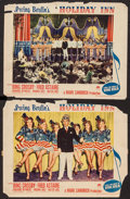 "Movie Posters:Musical, Holiday Inn (Paramount, 1942). Lobby Cards (2) (11"" X 14""). Musical.. ... (Total: 2 Items)"