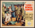 "Movie Posters:Adventure, The Lives of a Bengal Lancer (Paramount, 1935). Lobby Card (11"" X14""). Adventure.. ..."