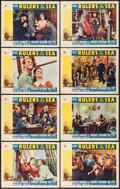 """Movie Posters:Adventure, Rulers of the Sea (Paramount, 1939). Lobby Card Set of 8 (11"""" X14""""). Adventure.. ... (Total: 8 Items)"""
