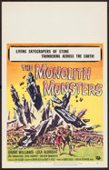 """Movie Posters:Science Fiction, The Monolith Monsters (Universal International, 1957). Window Card(14"""" X 22""""). Science Fiction.. ..."""