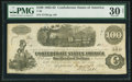 Confederate Notes:1862 Issues, State of Georgia Treasury Seal T40 $100 1862 PF-1 Cr. 298.. ...