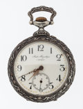 Timepieces:Pocket (post 1900), Swiss Doxa Rare Over Sized Open Face Pocket Watch. ...