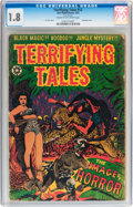 Golden Age (1938-1955):Horror, Terrifying Tales #12 (Star Publications, 1953) CGC GD- 1.8 Cream tooff-white pages....