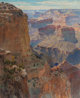 GUNNAR MAURITZ WIDFORSS (Swedish, 1879-1934) Grand Canyon Oil on canvas 30 x 24 inches (76.2 x 61.0 cm) Inscribed ve