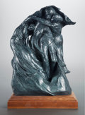 Sculpture, KENT ULLBERG (American, b. 1945). For Fear We Shall Perish. Bronze with patina. 22 x 17 x 11 inches (55.9 x 43.2 x 27.9 ...