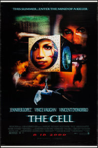 "The Cell & Others Lot (New Line, 2000). One Sheets (3) (27"" X 40"" & 27"" X 41"") DS Advance &a..."