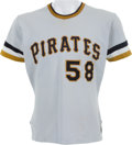 Baseball Collectibles:Uniforms, Early 1970's Pittsburgh Pirates Game Worn Uniform....