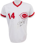 Baseball Collectibles:Uniforms, 1984 Pete Rose Game Worn Cincinnati Reds Uniform with Rose Letter....