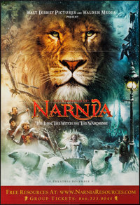 The Chronicles of Narnia: The Lion, the Witch and the Wardrobe & Others Lot (Buena Vista, 2005). One Sheets (6) (26...