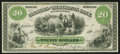 Obsoletes By State:Maryland, Elkton, MD- The Farmers and Merchants Bank of Cecil County $20 Dec.(?) 1, 1862 G12a Shank 41.3.19. ...